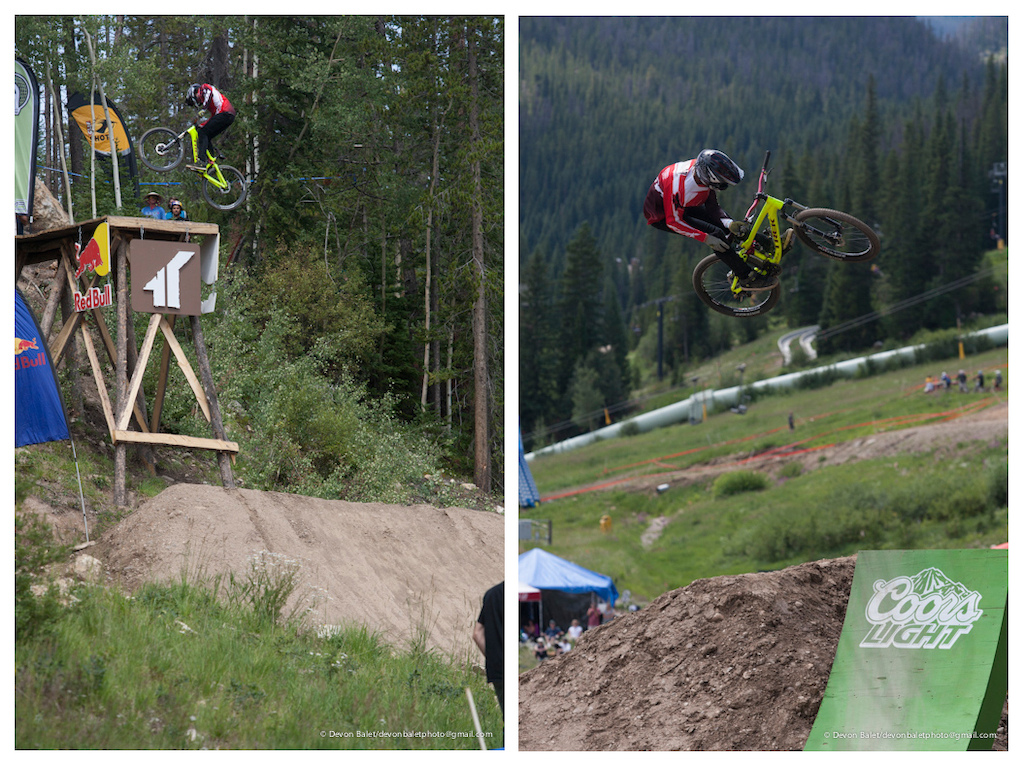 Brett Rheeder made an impact in Claymore and again here in Colorado. His solid riding landed him in third place.