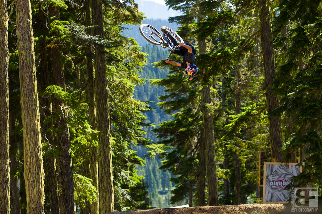 If one thing is consistent about Slope Style comps it s that Anthony Meserre will absolutely boost the hell out of something. Amplitude and then some.