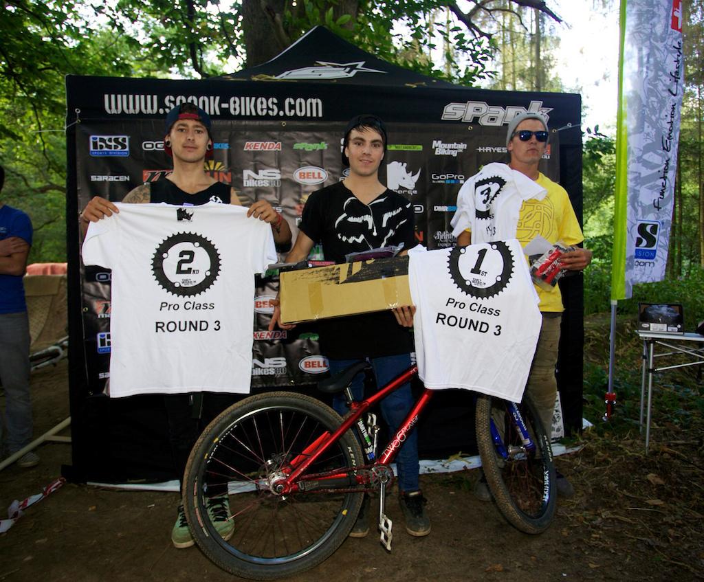 Spank Dirt Wars 2012 - Round 3 @ The Mandrys