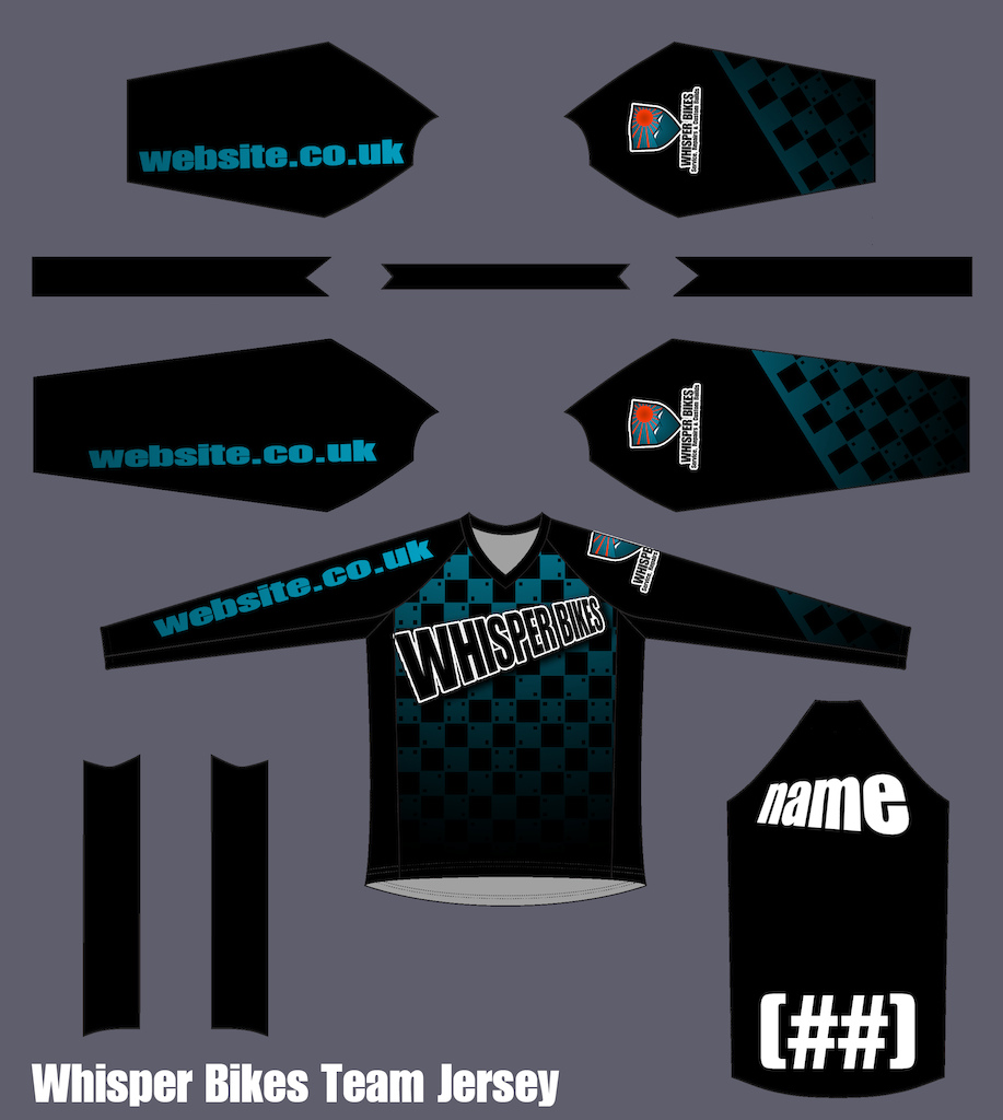 some possible race jersey designs...