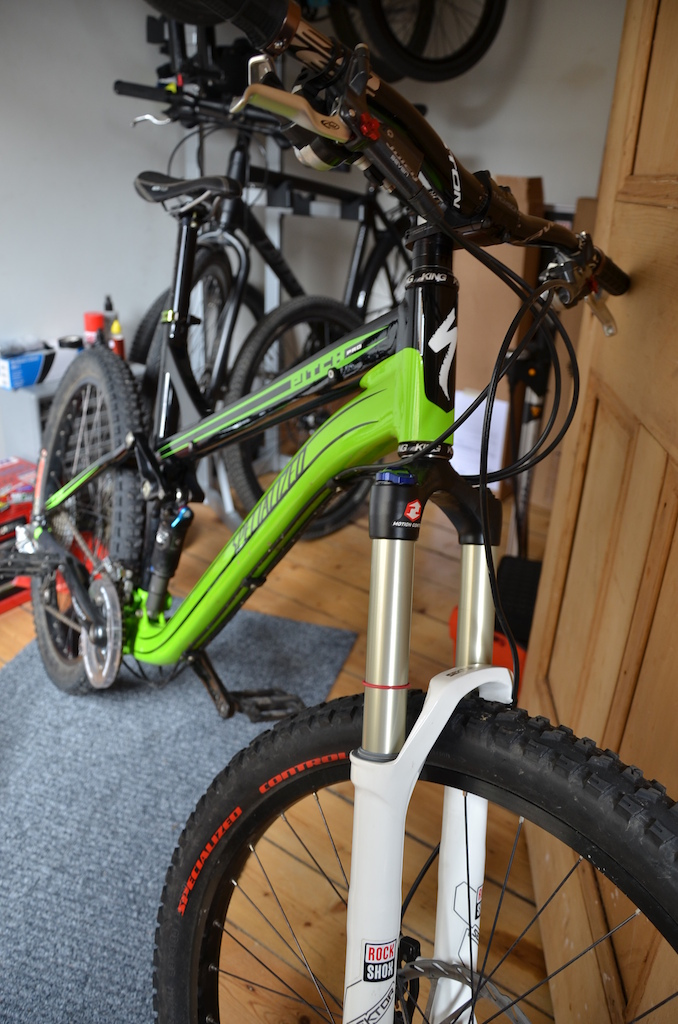 The MTB amongst the stable.