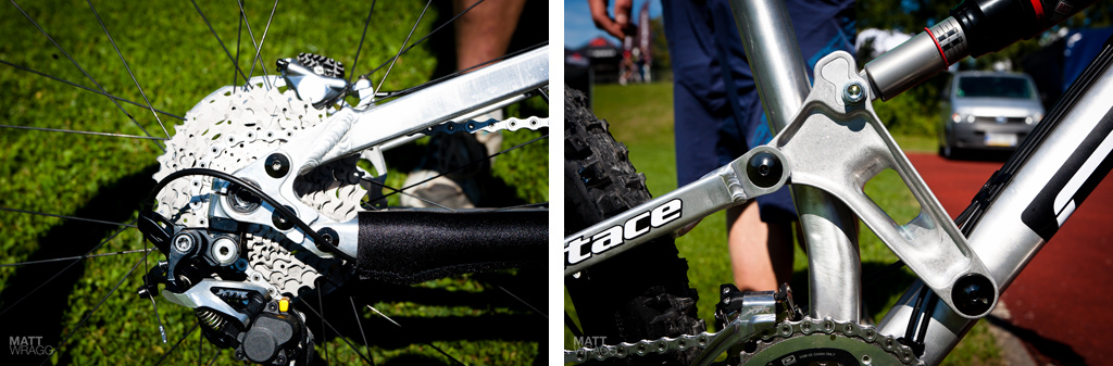 Details of the new Carver bike.