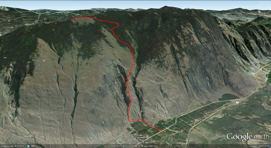 Cawston Creek Map