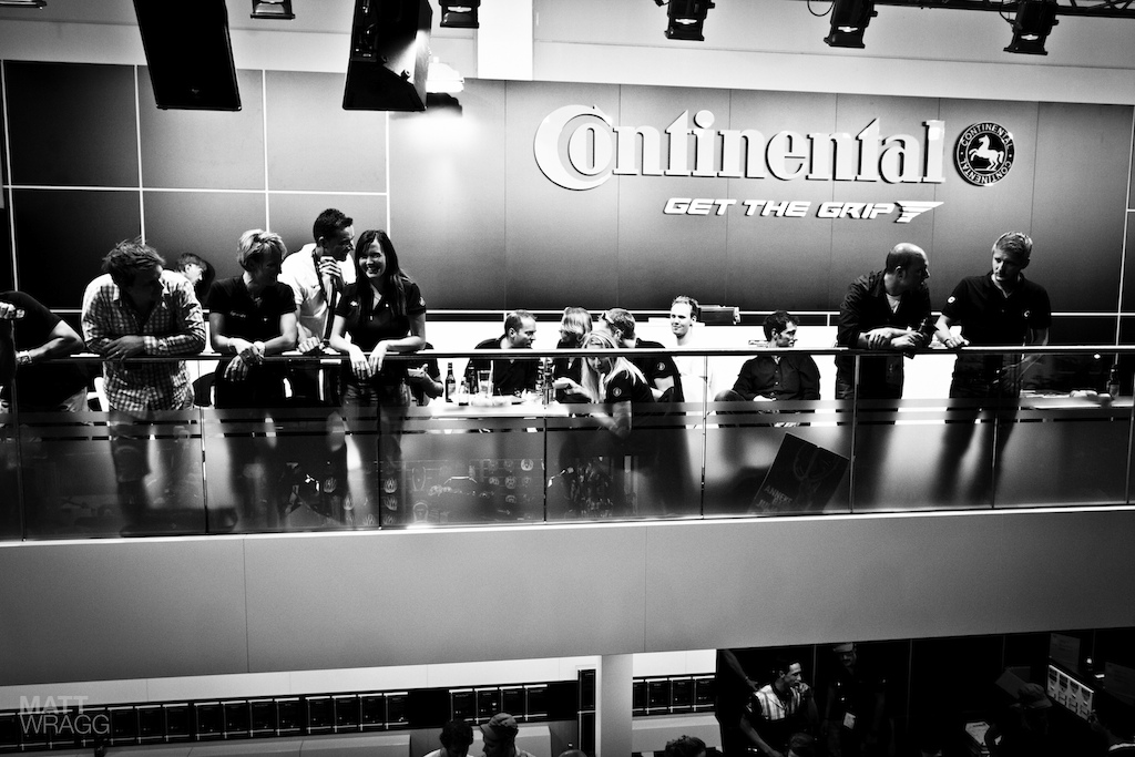Continental party.