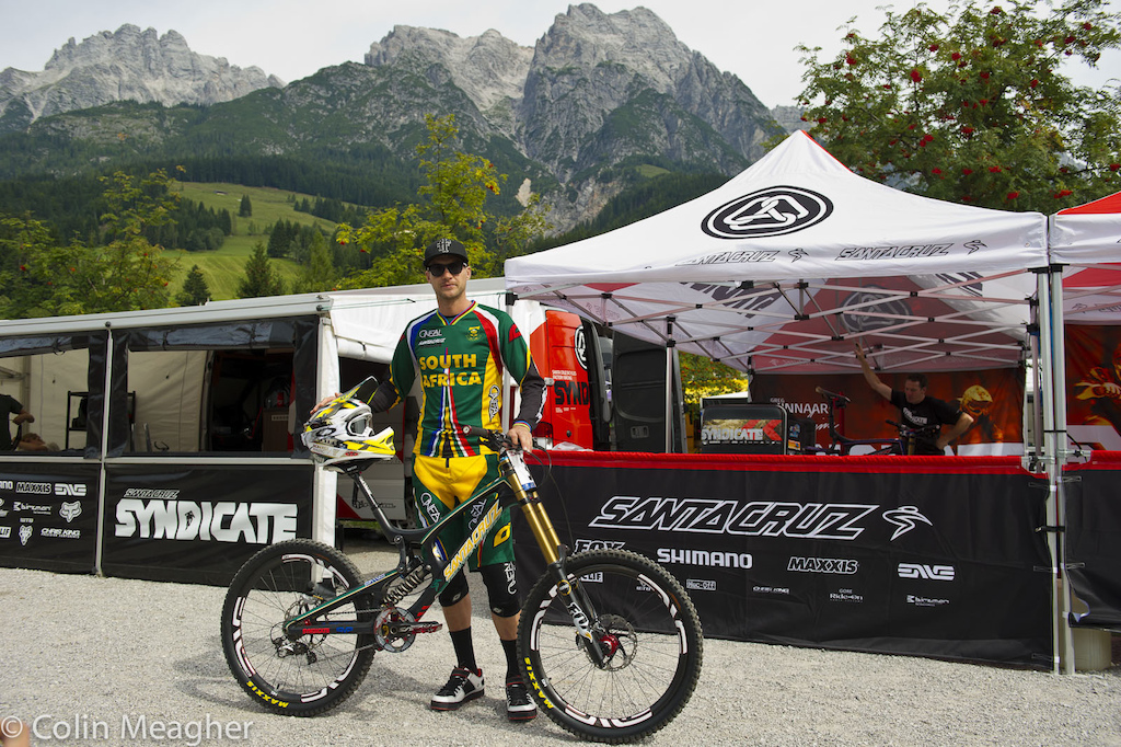 Greg Minnaar s World s bike.