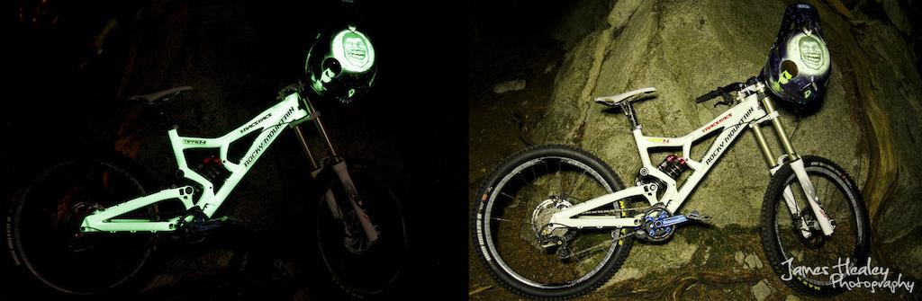 Tippies Glow In The Dark 2013 Rocky Mountain Flatline Pinkbike
