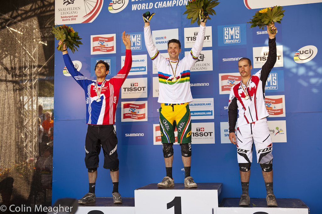Men s Elite podium