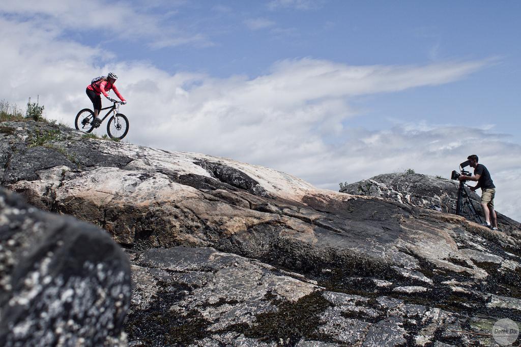 Remote island xc riding
