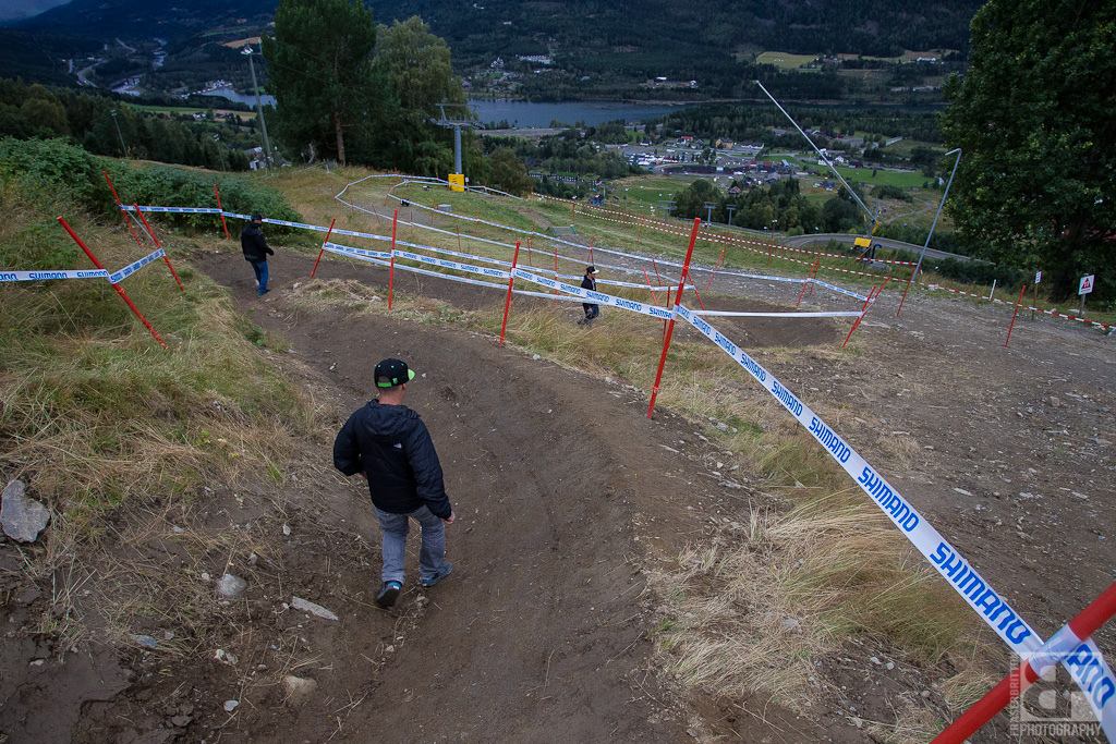 STEEP berms.
