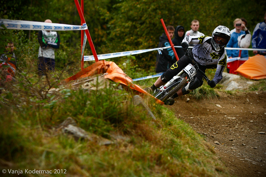 George Brannigan. It looks like his 4th time in yesterdays timed session was not a coincidence. 3rd place today.