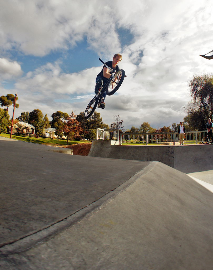 Tom Barring the hip gap :) ! hasn't ridin' in a while but he has still got it! :D