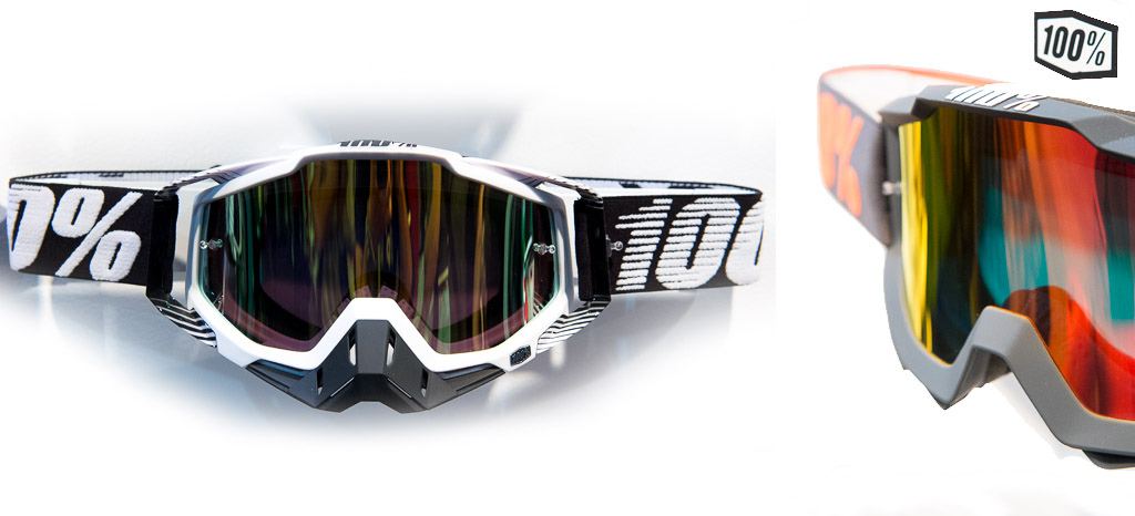 100 had some great goggles on display. They re worn on the World Cup circuit by riders such as Mick Hannah and Andrew Neethling and as well as great styling they have all the features you d expect in a top of the line goggle.