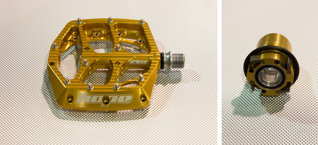 Hope have a new pedal as well as a new freehub body designed for SRAM s 11 speed cassette.