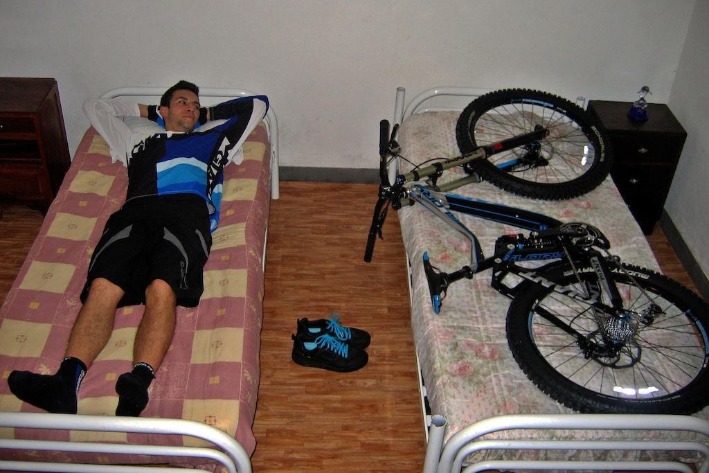 Good night, Bike.