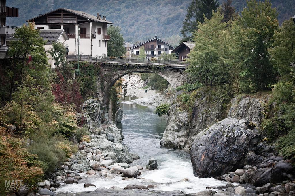 The bridge in the centre of Scopello.