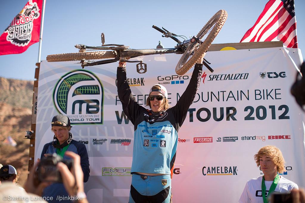 Brandon Semenuk - 2012 FMB tour overall champion
