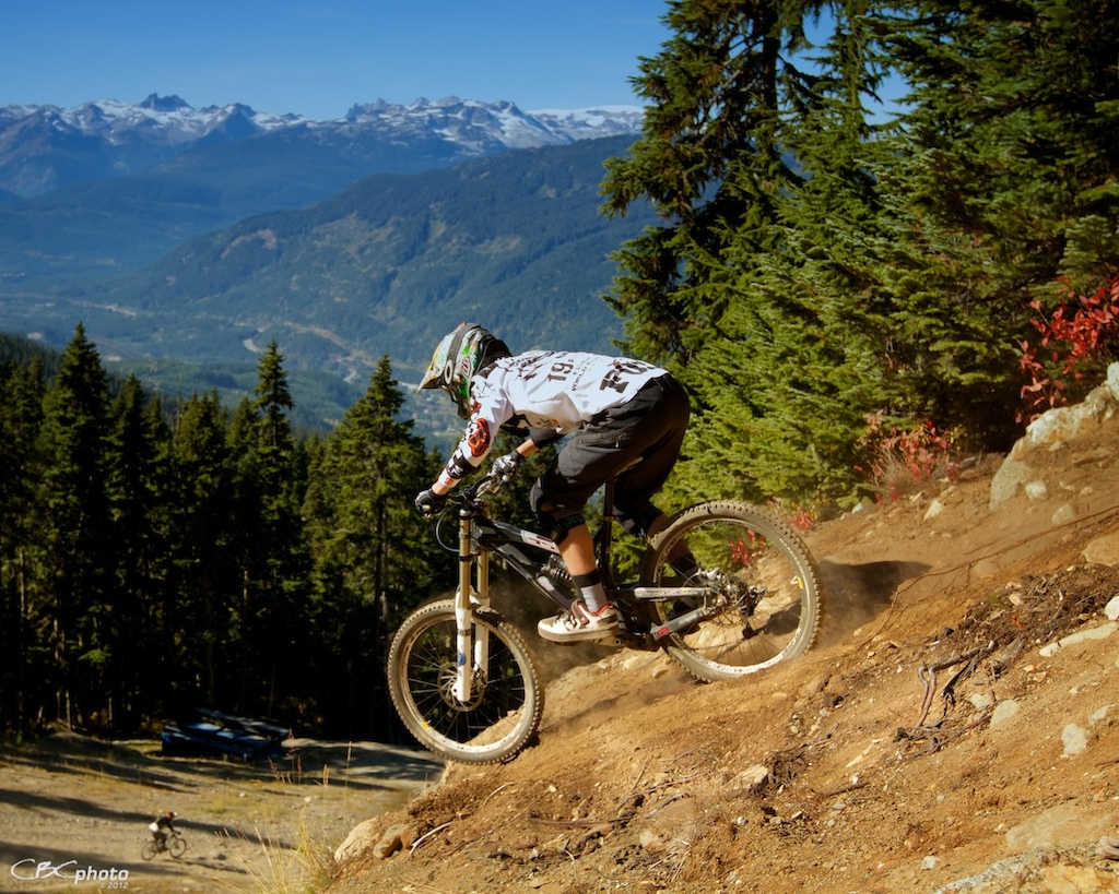 Last Weekend at Whistler Bike Park for 2012