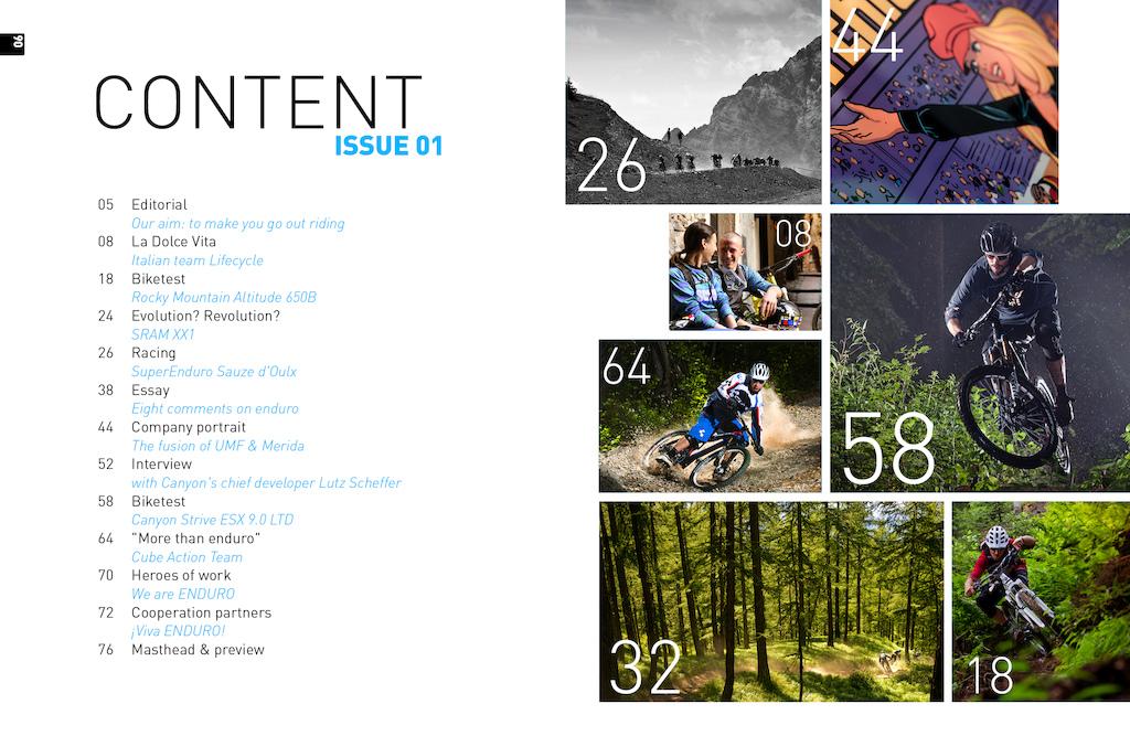 Enduro Mountainbike Magazine: 001 - Pinkbike