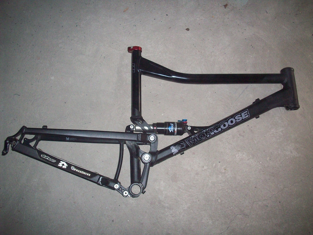 mongoose teocali frame with fox rp23 shock