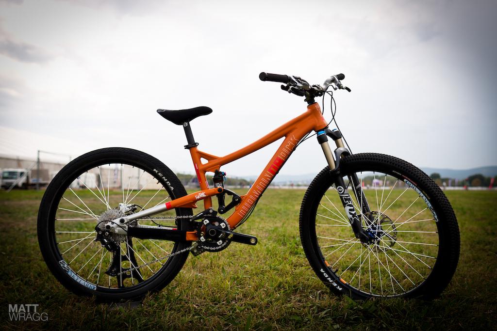 Diamondback prototype slopestyle bike