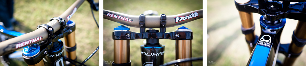 Details of the Mondraker Forward Geometry Sumnum.