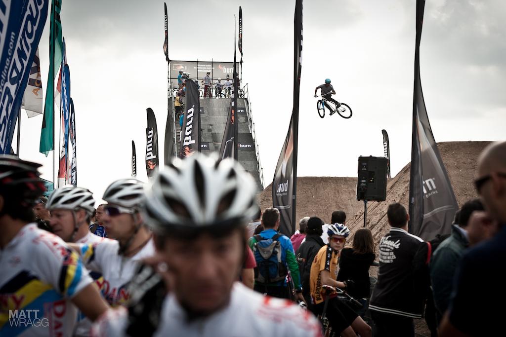 Roc D Azur 2012 dirt jumping.