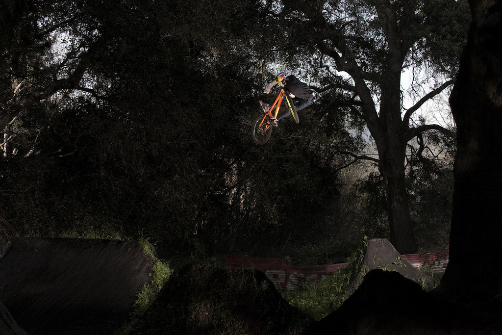 One of my last riding shots with a flash ever. Cobbs place in California 2010.