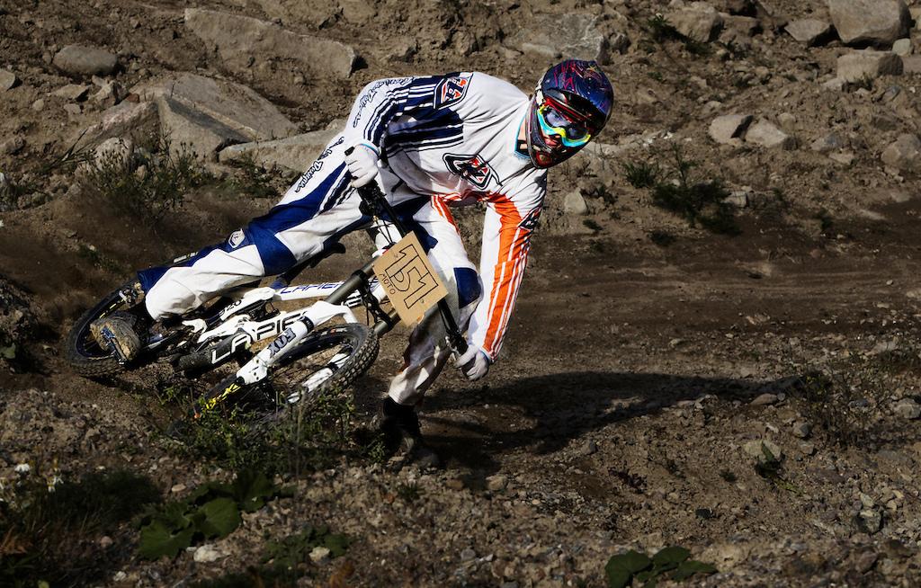 Zakarias Blom Johansen wishes he was a moto dude in a berm in Sweden.