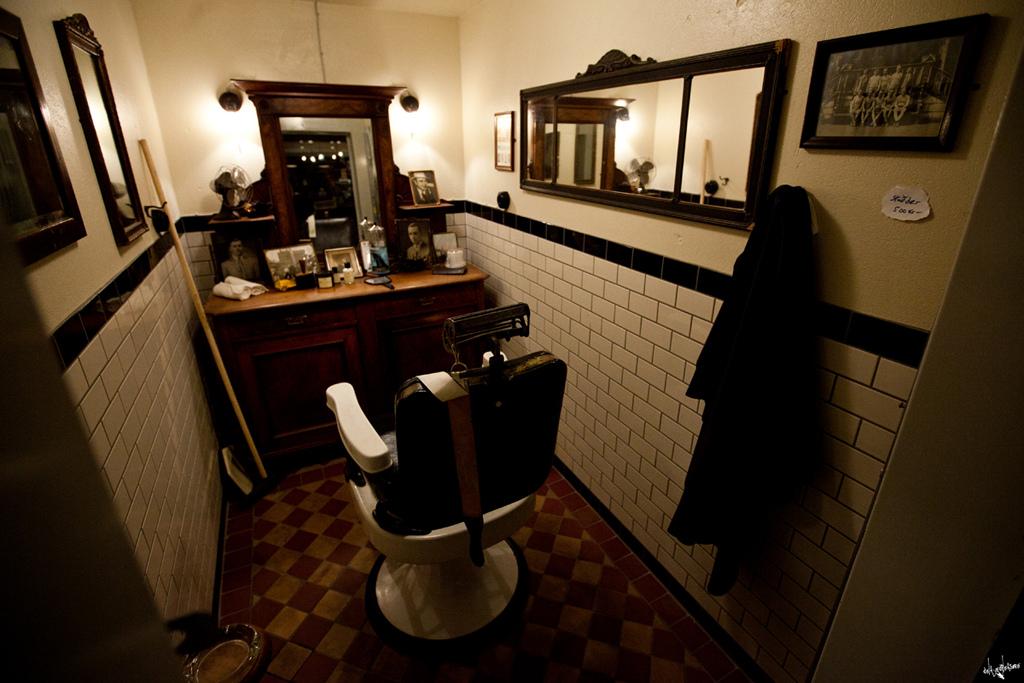 evil barber shop