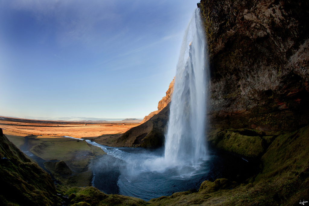 the seljafoss waterfall at it s best