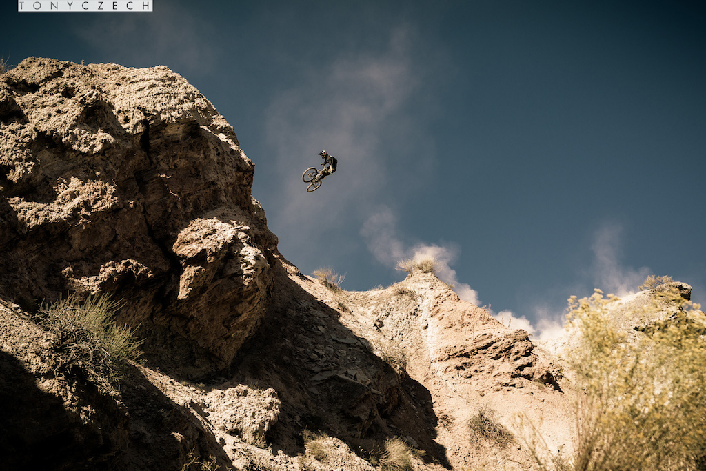Kurt Sorge & Cam McCaul in Virgin Utah throwing down.