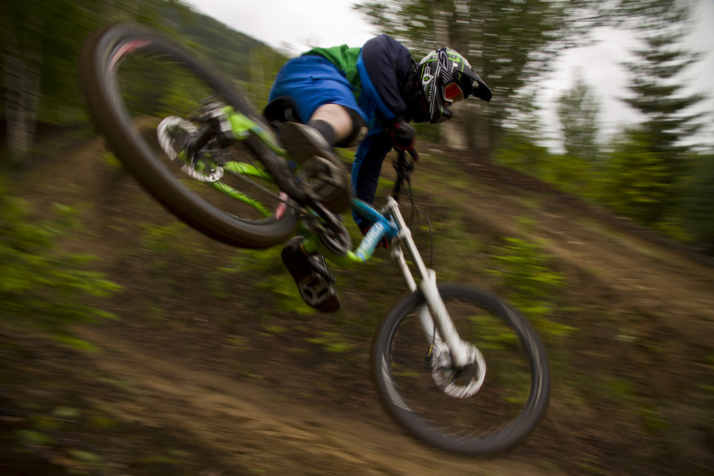 Whipping it out, shooting for Four Days Rain