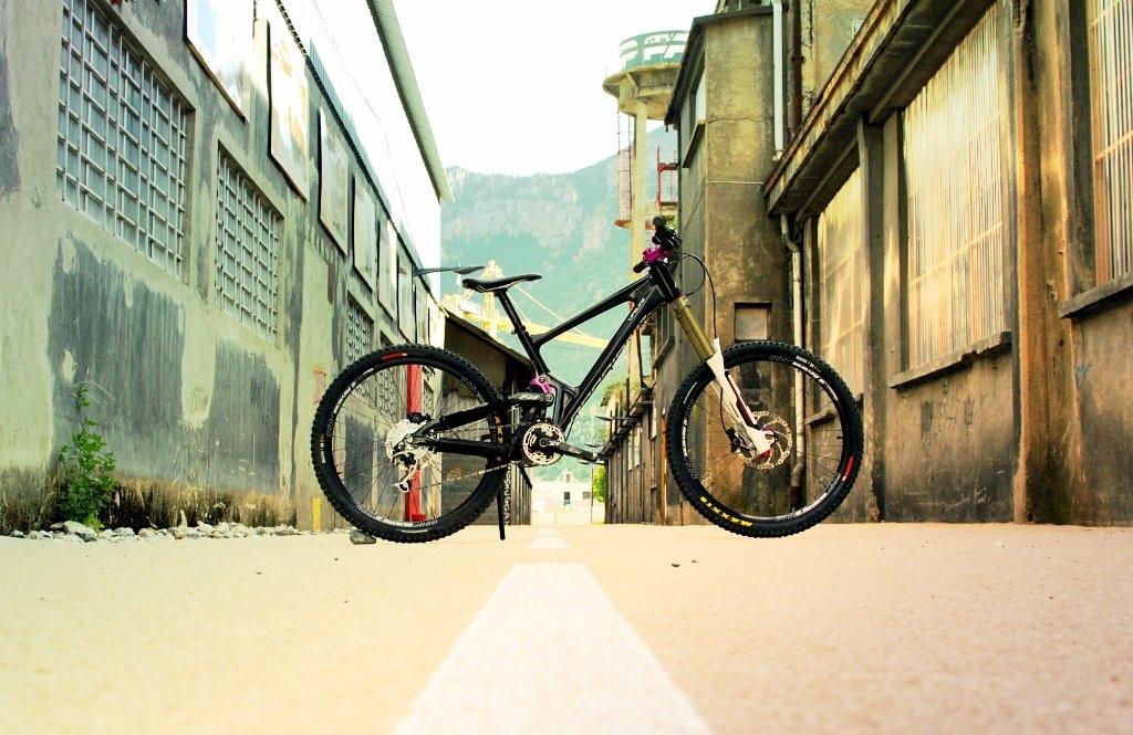 Bike - Renovbike Guide - Weeze KeepIt Chainring - Weeze Steel Series RAW Frame - Antidote Bikes