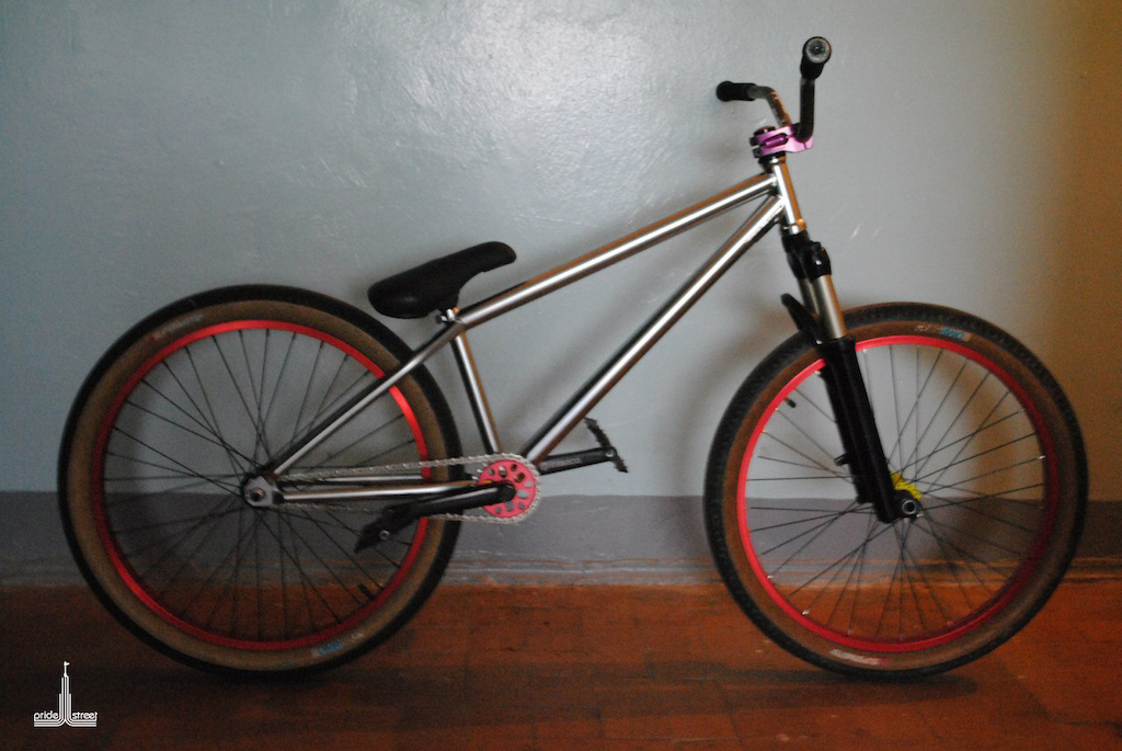 """PS Main Frame 24"""" / chrome / 2013 / ps-bikes.com"""