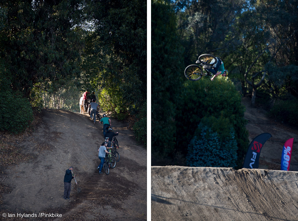 Casey Groves was throwing a bunch of sick looking stuff today.