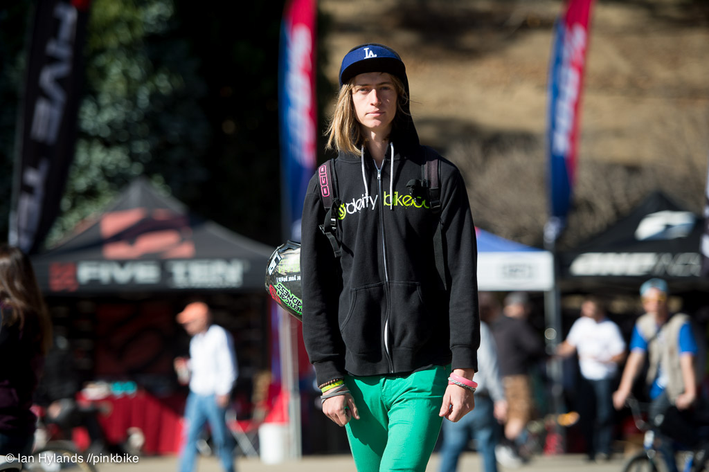 Cody Gessel fashion king. Cody was pullng huge transfer lines in best trick all afternoon he and Bafus were pretty much running zigzags down the course...