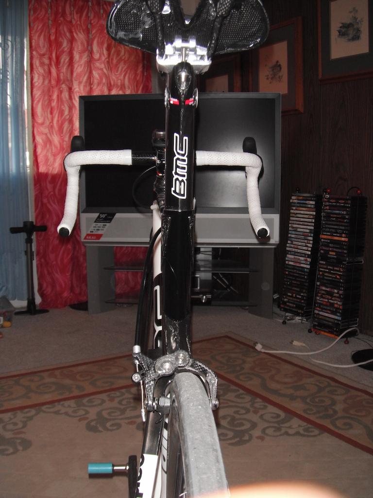 BMC Aero seatpost and my carbon fiber saddle