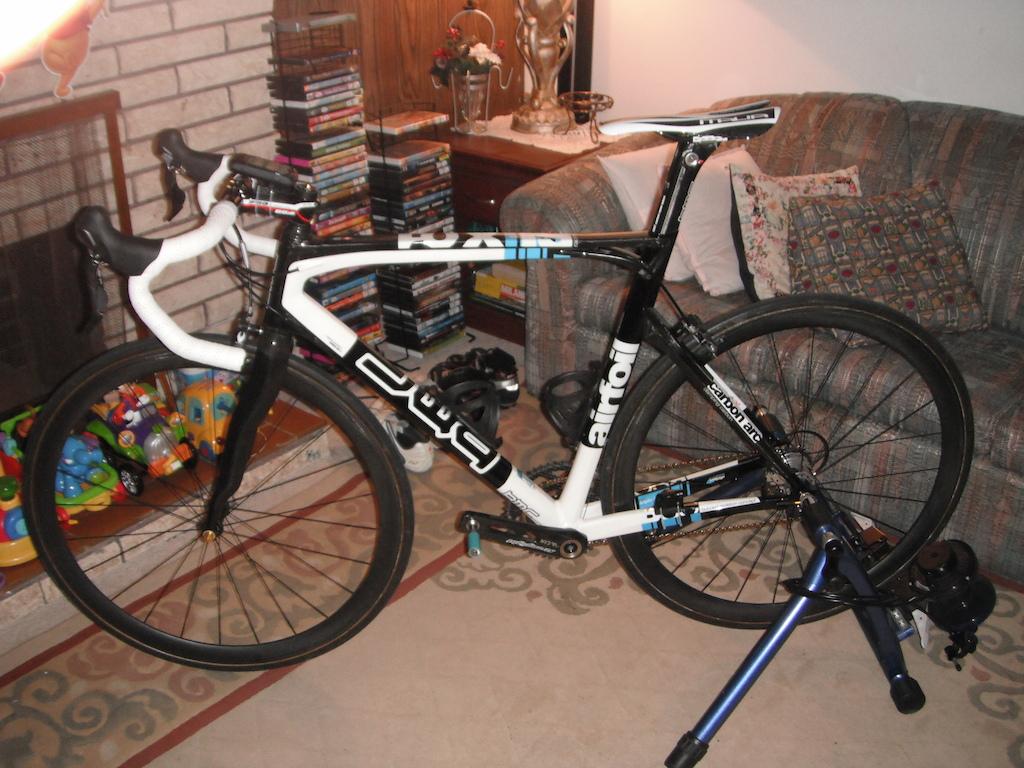 BMC SLX01 Racemaster complete bike set-up on MAG RDA 850 trainer.