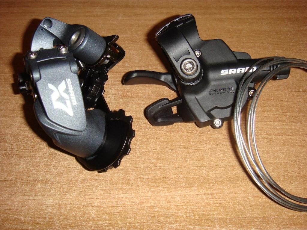 New Rear Derailleur- Sram X7 and X4 Shifter.