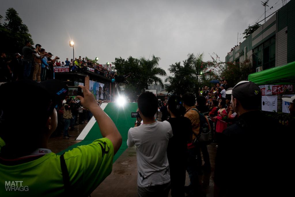 The street demo.