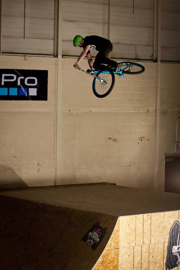 """Nick is our Canadian shredder with the attitude to go high & stylish! Recently he pops up with short flicks of his new bangers (360 triple bar or 360 bar to tailwhip) and from all this madness he spare some time to shot this """"bikecheck"""" photos! Way to go mate!"""