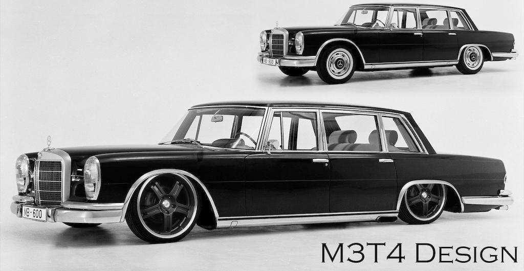 1964 Mercedes-Benz 600 Pullman Limousine virtual tuning