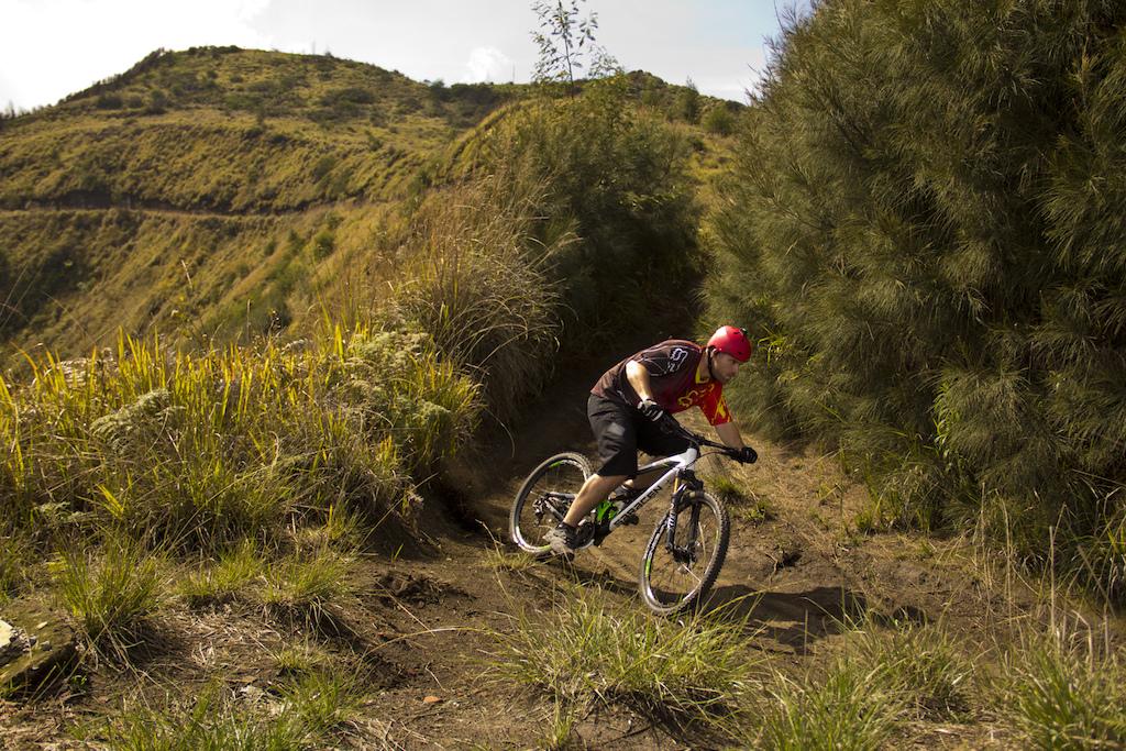 bike trip in indonesia