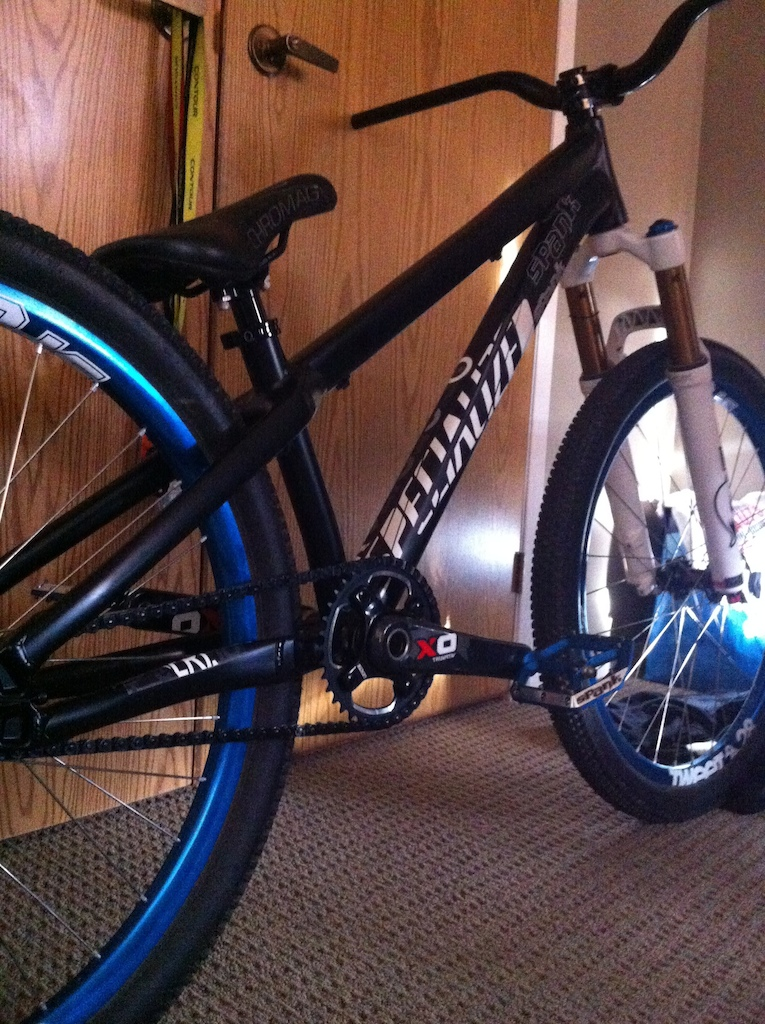 New 2013 P3 built up, still waiting on brake and grips, big thanks to spank