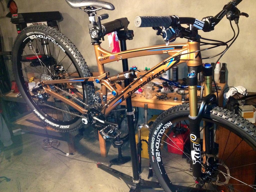 2013 Transition Covert 29. A pure trail slaying machine.