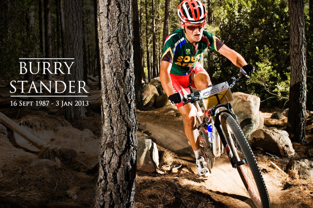 SA & the Cycling world lost a legend yesterday. It was a privilege to have seen you in action Burry! RIP!