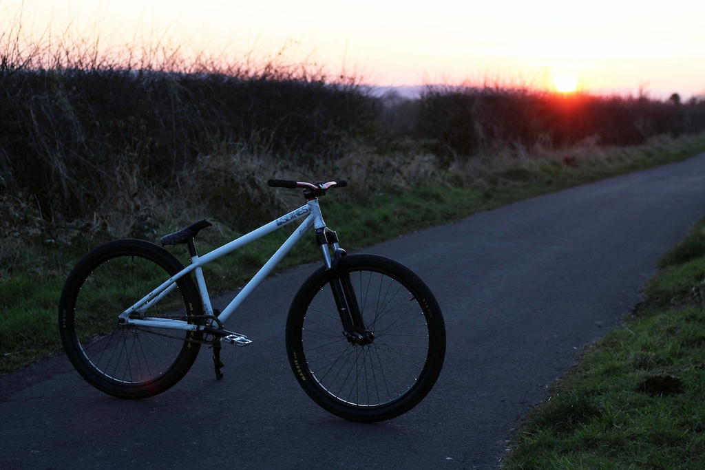 Sunset was sweet so I grabbed some pics of the bike