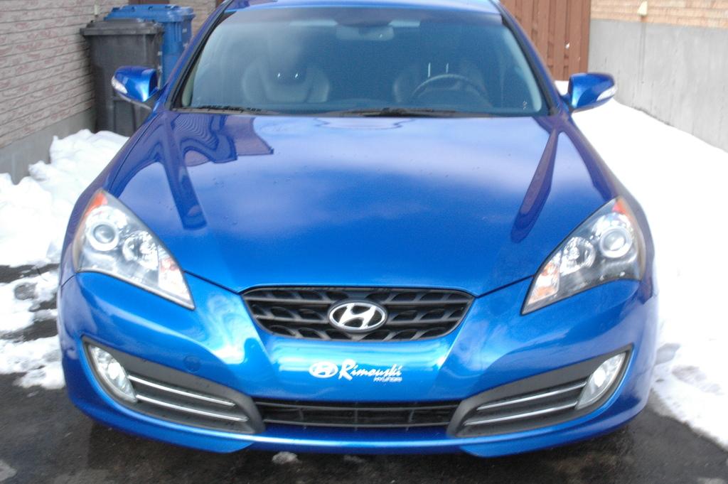 mon nouveau char hyundai genesis coupe 3.8 2010 full équipe!