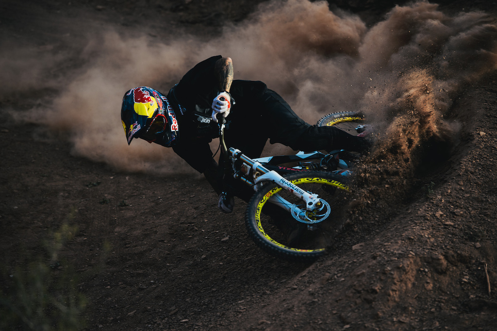 Shooting the Redbull Rampage mountain biking event for 2012.
