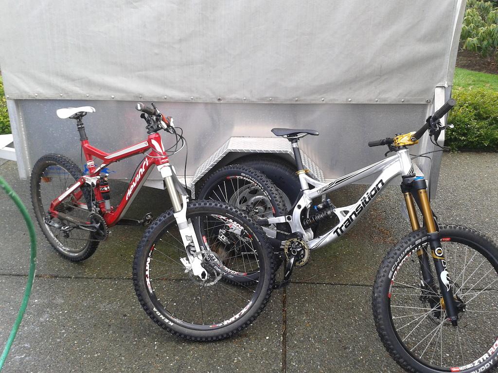 Tr250 and Devinci Dixon